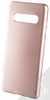 Molan Cano Jelly Case TPU ochranný kryt pro Samsung Galaxy S10 Plus růžově zlatá (rose gold)