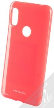 Molan Cano Jelly Case TPU ochranný kryt pro Xiaomi Redmi Note 6 Pro sytě růžová (hot pink)
