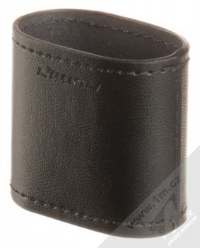Nillkin Airpods Mate Wireless Charging Case kožené pouzdro s podporou bezdrátového nabíjení pro sluchátka Apple AirPods černá (black)