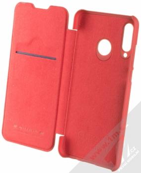 Nillkin Qin flipové pouzdro pro Huawei P30 Lite červená (red) otevřené