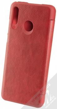 Nillkin Qin flipové pouzdro pro Huawei P30 Lite červená (red) zezadu