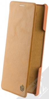 Nillkin Qin flipové pouzdro pro Sony Xperia 10 hnědá (brown)