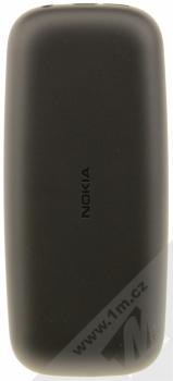 NOKIA 105 DUAL SIM (2017) černá (black) zezadu
