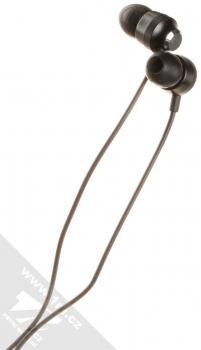 Nokia WH-201 Stereo Earphones originální stereo headset s tlačítkem a konektorem Jack 3,5mm černá (black) sluchátka
