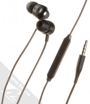 Nokia WH-201 Stereo Earphones originální stereo headset s tlačítkem a konektorem Jack 3,5mm černá (black)