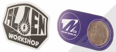 Samolepka Alien Workshop OG Logo 1 měřítko