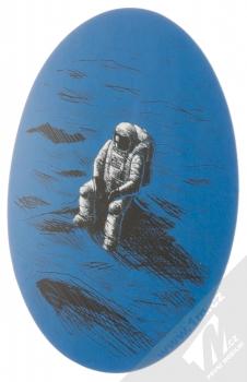 Samolepka Kosmonaut osamecený v pustině 1