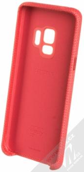 Samsung EF-GG960FR Hyperknit Cover originální ochranný kryt pro Samsung Galaxy S9 červená (red) zepředu