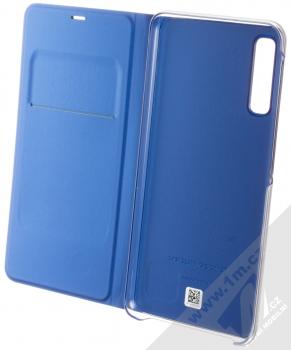 Samsung EF-WA750PL Wallet Cover originální flipové pouzdro pro Samsung Galaxy A7 (2018) modrá (blue) otevřené