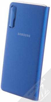 Samsung EF-WA750PL Wallet Cover originální flipové pouzdro pro Samsung Galaxy A7 (2018) modrá (blue) zezadu