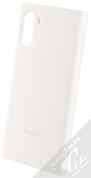 Samsung EF-ZN970CW Clear View Cover originální flipové pouzdro pro Samsung Galaxy Note 10 bílá (white) zezadu