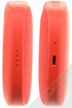 Samsung EO-SG930CR Level Box Slim Bluetooth reproduktor červená (red) zboku