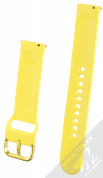 Samsung ET-SFR50MY Sport Band pásek na zápěstí pro Samsung Galaxy Watch Active žlutá (yellow) zezadu