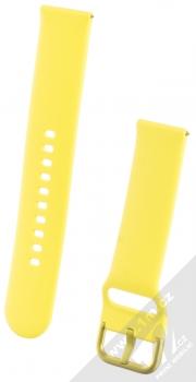 Samsung ET-SFR50MY Sport Band pásek na zápěstí pro Samsung Galaxy Watch Active žlutá (yellow)