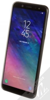 Samsung SM-A600FN/DS Galaxy A6 černá (black) šikmo zepředu