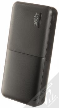Setty Travel Battery záložní zdroj 20000mAh černá (black)