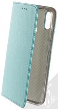 Sligo Smart Magnet flipové pouzdro pro Huawei Y7 (2019) tyrkysová (turquoise)