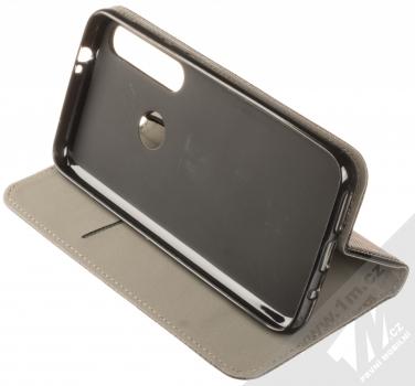 Sligo Smart Magnet flipové pouzdro pro Moto G8 Plus černá (black) stojánek