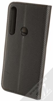 Sligo Smart Magnet flipové pouzdro pro Moto G8 Plus černá (black) zezadu