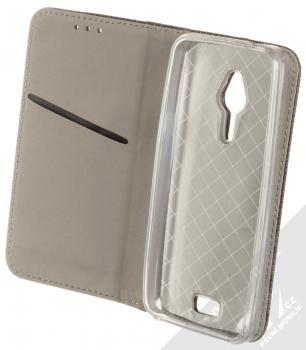 Sligo Smart Magnet flipové pouzdro pro Nokia 230, 230 Dual Sim černá (black) otevřené