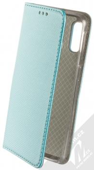 Sligo Smart Magnet flipové pouzdro pro Samsung Galaxy A40 tyrkysová (turquoise)