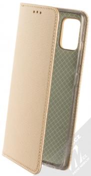 Sligo Smart Magnet flipové pouzdro pro Samsung Galaxy A51 zlatá (gold)