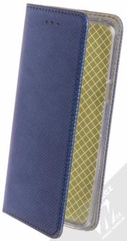 Sligo Smart Magnet flipové pouzdro pro Samsung Galaxy S9 tmavě modrá (dark blue)