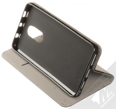 Sligo Smart Magnet flipové pouzdro pro Xiaomi Redmi Note 4 (Global Version) černá (black) stojánek
