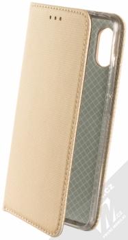Sligo Smart Magnet flipové pouzdro pro Xiaomi Redmi Note 6 Pro zlatá (gold)