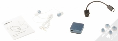 Sony SBH24 Stereo Bluetooth Headset modrá (blue) balení