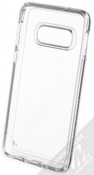 Spigen Crystal Hybrid odolný ochranný kryt pro Samsung Galaxy S10e průhledná (crystal clear) zepředu