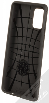 Spigen Rugged Armor odolný ochranný kryt pro Samsung Galaxy A71 černá (matte black) zepředu