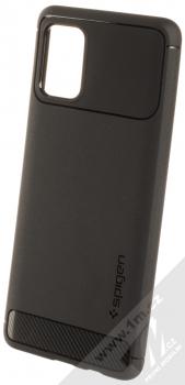Spigen Rugged Armor odolný ochranný kryt pro Samsung Galaxy A71 černá (matte black)