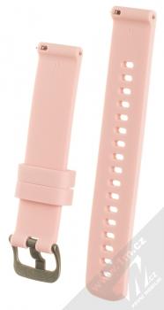 Tactical Diamond Color Strap silikonový pásek na zápěstí s univerzální osičkou 18mm růžová (pink) zezadu