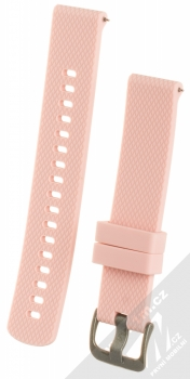 Tactical Diamond Color Strap silikonový pásek na zápěstí s univerzální osičkou 18mm růžová (pink)