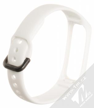 Tactical Single Color Strap silikonový pásek na zápěstí pro Samsung Galaxy Fit e bílá (white) zezadu