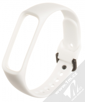 Tactical Single Color Strap silikonový pásek na zápěstí pro Samsung Galaxy Fit e bílá (white)
