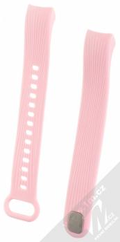 Tactical Vertical Lines Strap silikonový pásek na zápěstí pro Honor Band 3 růžová (pink)