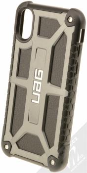 UAG Monarch odolný ochranný kryt pro Apple iPhone X tmavě šedá černá (graphite black)