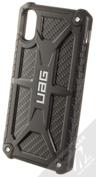 UAG Monarch odolný ochranný kryt pro Apple iPhone XR černá (all black carbon)