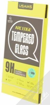 USAMS Arc Edge Tempered Glass ochranné tvrzené sklo na kompletní zahnutý displej pro Samsung Galaxy S8 Plus krabička