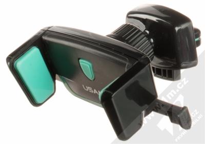 USAMS US-ZJ030 Car Air Vent Holder univerzální držák do mřížky ventilace automobilu černá zelená (black mint)