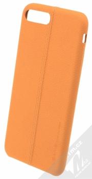 USAMS Joe kožený ochranný kryt pro Apple iPhone 7 Plus béžová (beige)