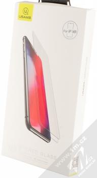 USAMS Tempered Glass 0.15mm ochranné tvrzené sklo na displej pro Apple iPhone XR průhledná (transparent) krabička