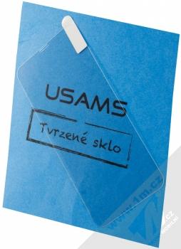 USAMS Tempered Glass 0.15mm ochranné tvrzené sklo na displej pro Apple iPhone XR průhledná (transparent)