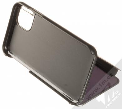 Vennus Clear View flipové pouzdro pro Apple iPhone 11 černá (black) stojánek