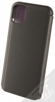Vennus Clear View flipové pouzdro pro Apple iPhone 11 černá (black) zezadu