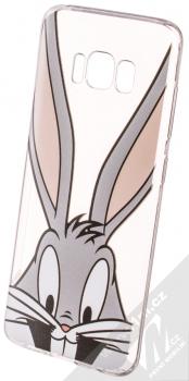 Warner Bros Looney Tunes Bugs Bunny 001 TPU ochranný silikonový kryt s motivem pro Samsung Galaxy S8 průhledná (transparent)