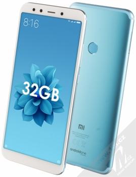 Xiaomi Mi A2 4GB/32GB Global Version CZ LTE + ZNAČKOVÁ SLUCHÁTKA SONY MDR-EX15AP v ceně 299Kč ZDARMA modrá (blue)