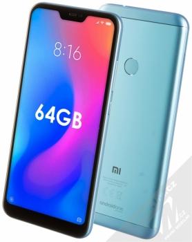 Xiaomi Mi A2 Lite 4GB/64GB Global Version CZ LTE + BRÝLE PRO VIRTUÁLNÍ REALITU SETTY v ceně 499Kč ZDARMA modrá (blue)